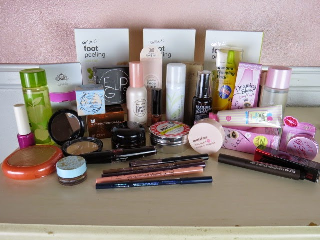 korean beauty haul from beautynetkorea