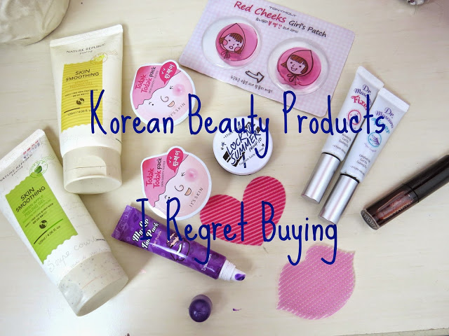 korean beauty products i regret buying