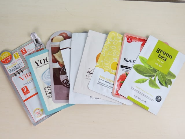 sheet mask, face masks
