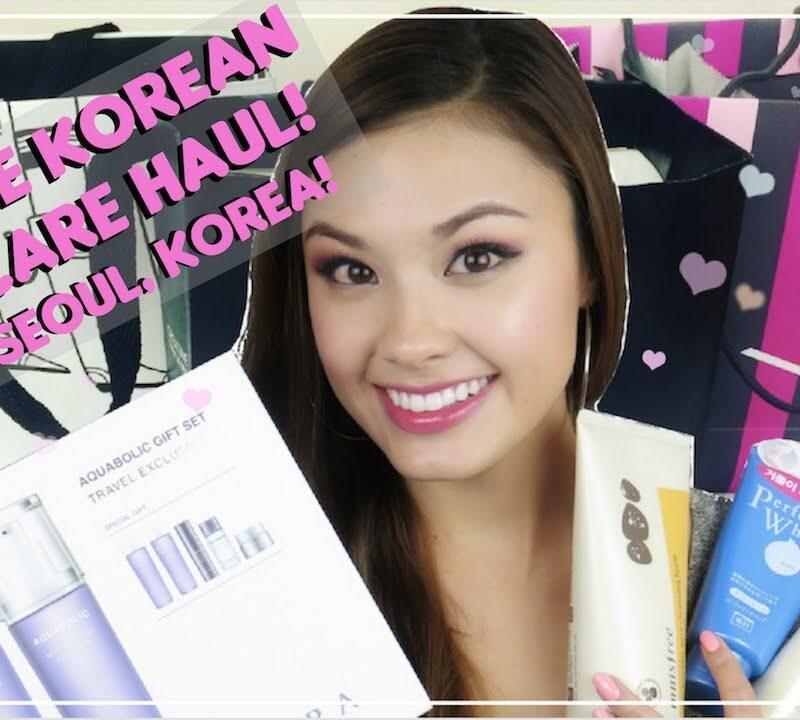 BIGGEST KOREAN SKINCARE HAUL EVER! (GIVEAWAY) Pt. 2 of my Haul From Seoul, Korea