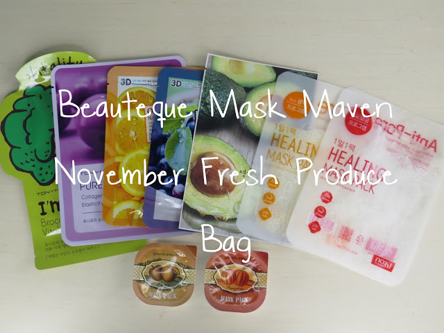 sheet masks, face masks