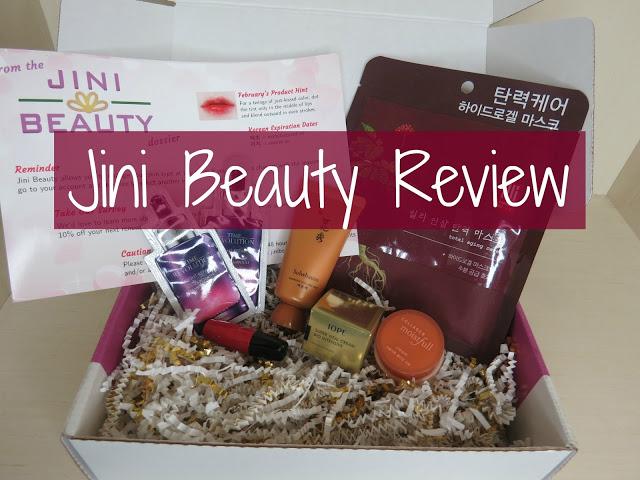 Jini Beauty Korean Beauty February Subscription Box Service Review