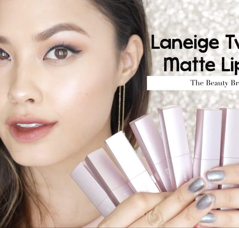 Laneige two tone matte lip bar review