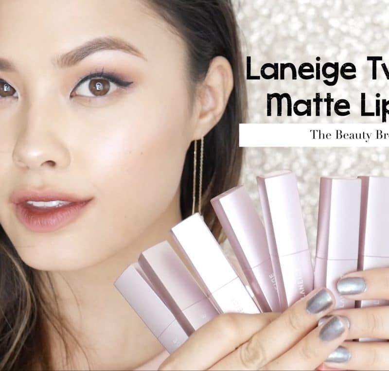 Laneige two tone matte lip bar review