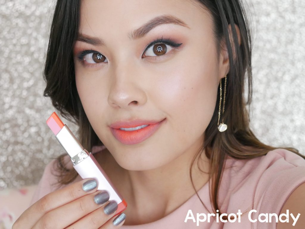 Laneige Two Tone Matte Lip Bar Apricot Candy