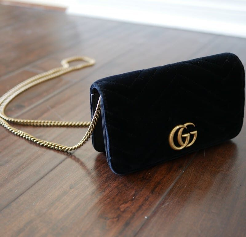 Gucci GG Marmont Velvet Crossbody Mini Bag Review