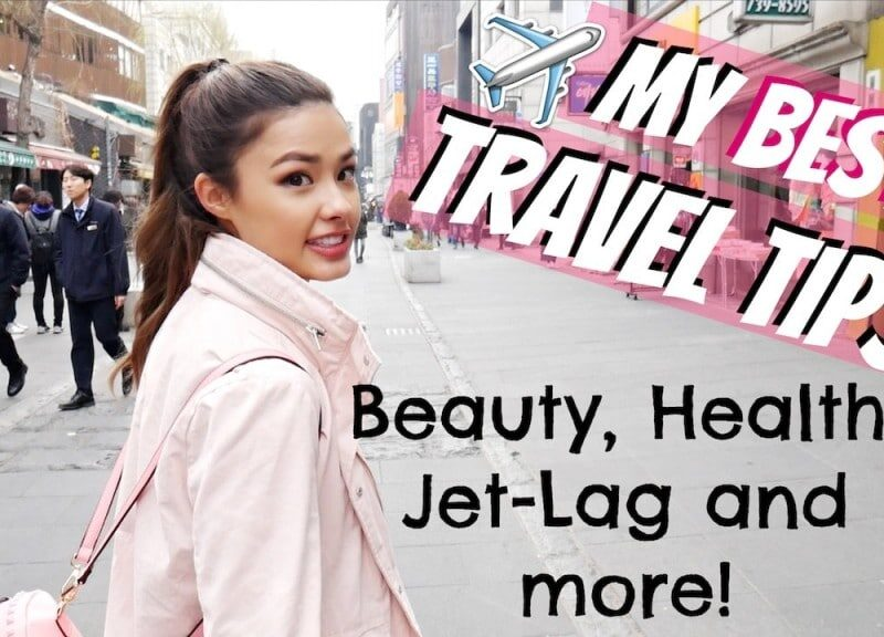 MY TRAVEL ROUTINE 🌎 Beauty Tips, Jet Lag, and How I Stay Healthy!