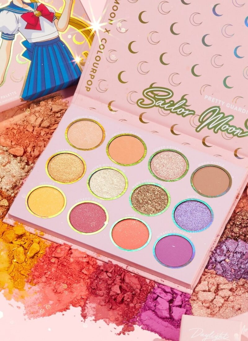 FULL SAILOR MOON x COLOURPOP COLLECTION REVIEW 🌙 Try-on, Swatches & Demo