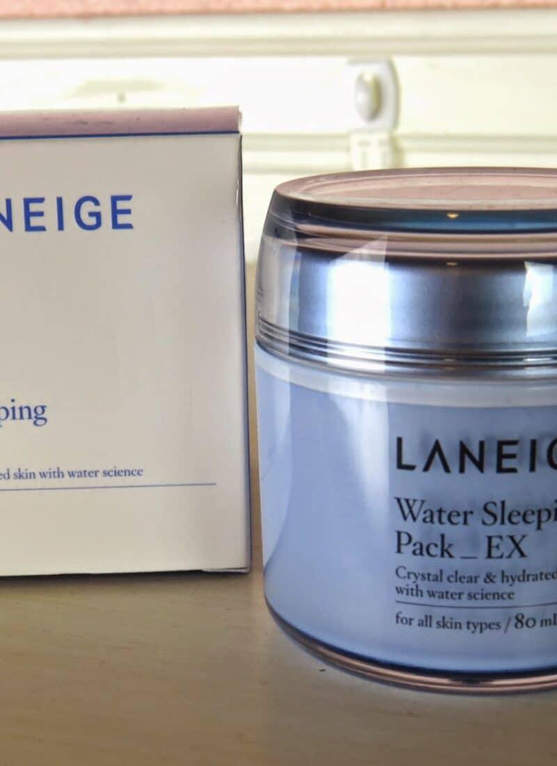 laneige water sleeping pack