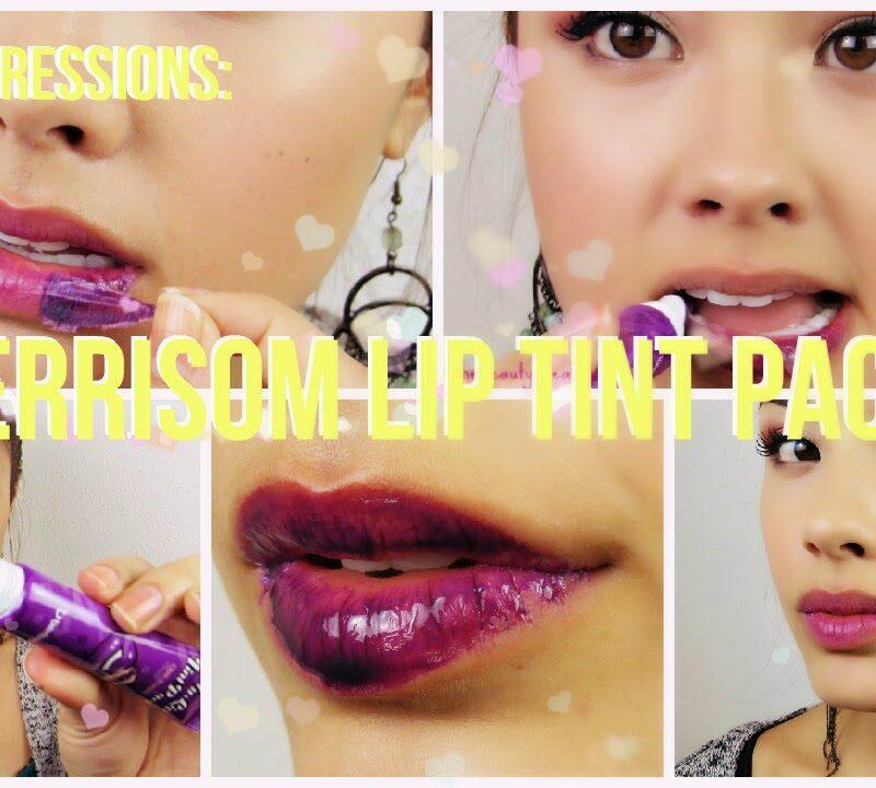 berrisom lip tint pack review