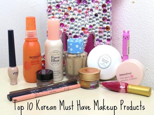 top korean makeup products