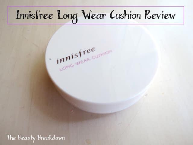 innisfree long wear cushion review