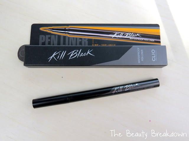 clio kill black pen liner