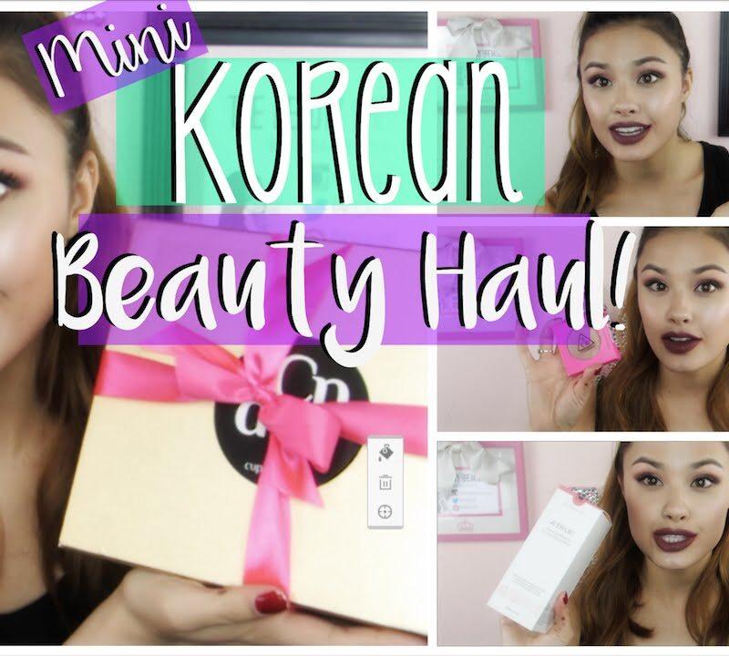 Mini Korean Beauty Haul - 3CE, Biege, and A True Makeup and Skincare